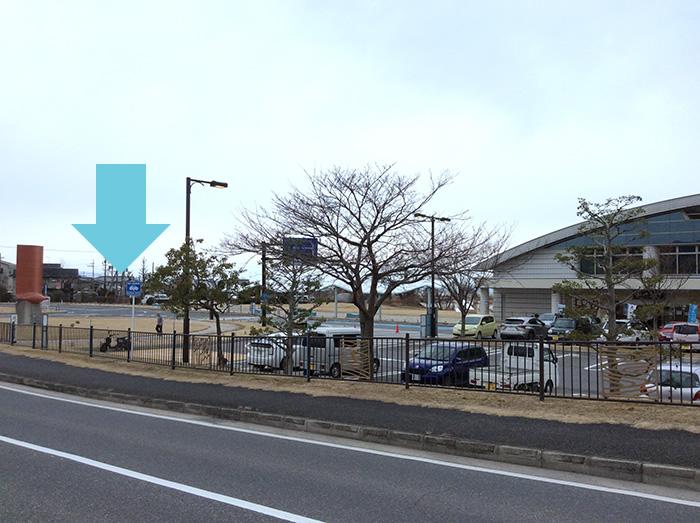 滋賀の道の駅びわ湖大橋米プラザ第二駐車場急速充電スタンド