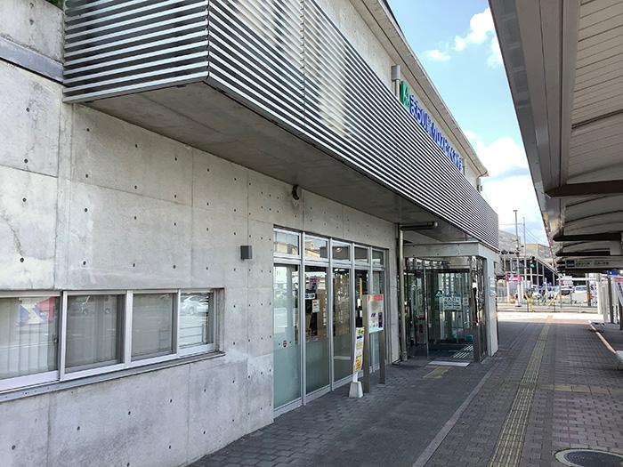 まちの駅クロスピアくみやま外観