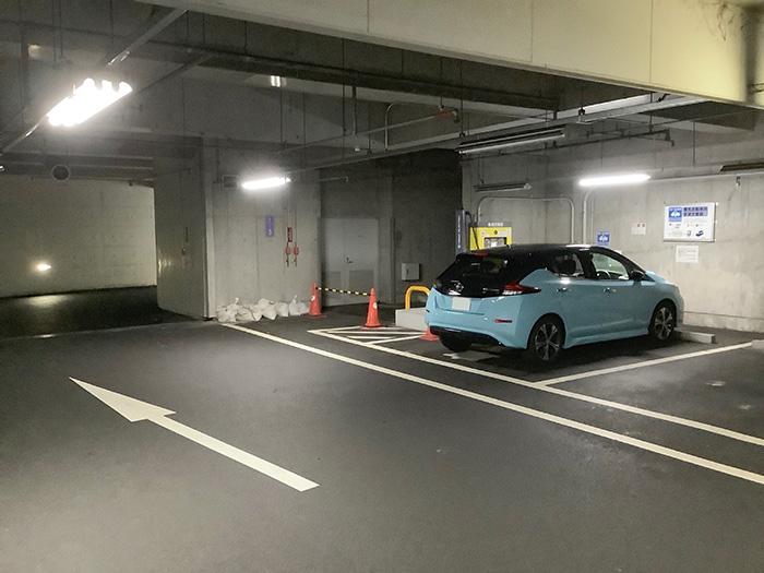 亀岡生涯学習施設道の駅ガレリアかめおか急速充電スタンド