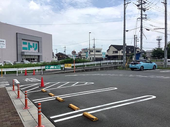 フレンドマート瀬田川店急速充電スタンドの場所