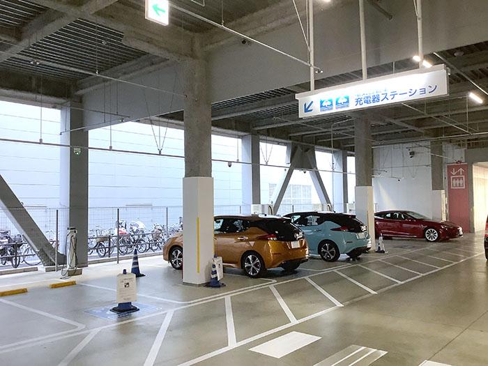 イオンモール京都桂川充電スタンド